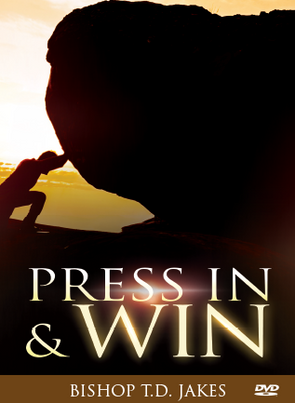 T.D. Jakes - Press In Win CD