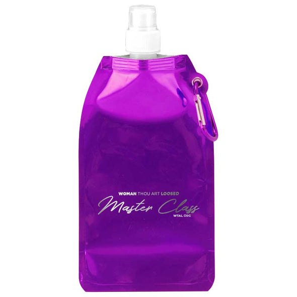T.D. Jakes - WTAL Collapsible Water Bottle