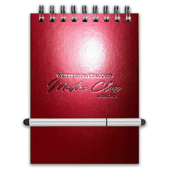 T.D. Jakes - WTAL Stretch Pen Set Journal  5x7