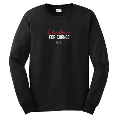 T.D. Jakes - GPS Partner for Change Long Sleeve T-Shirt