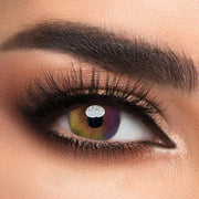 Color - Gold Contact Lenses