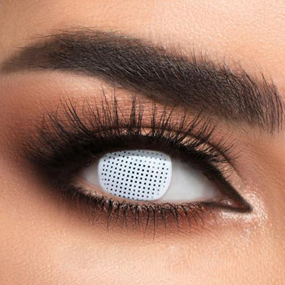 Color-White Contact lenses