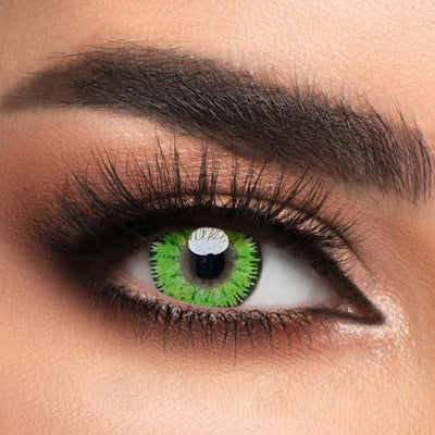 Color - Green Contact Lenses
