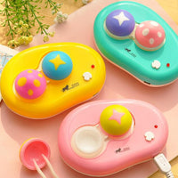 TopsFace Mushroom Contact Lenses Auto-washer