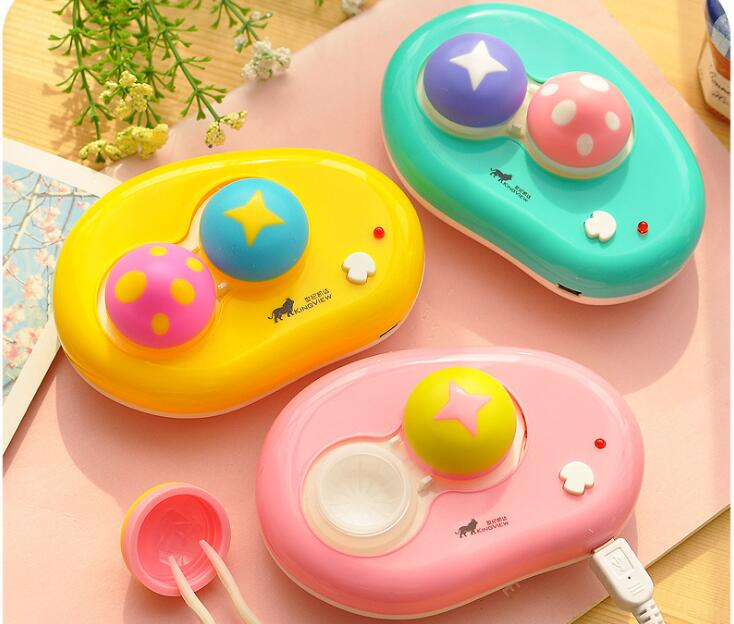TopsFace Cartoon Mushroom Contact Lenses Auto-washer