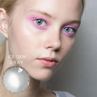 TopsFace Ice Dew Grey Colored Contact Lenses