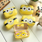 TopsFace Minions Cartoon Contact Lens Case