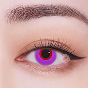 TopsFace Circle Purple-red Colored Contact Lenses