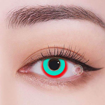 TopsFace Circle Red-green Colored Contact Lenses