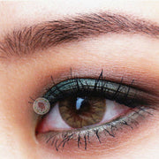 TopsFace Crystal Ball Caramel Colored Contact Lenses