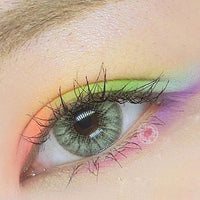TopsFace Crystal Ball Yellow-Green Colored Contact Lenses