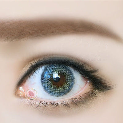 TopsFace Euroamerican Blue Colored Contact Lenses