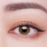 TopsFace Floweriness Brown Colored Contact Lenses