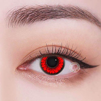 TopsFace Honey Red Colored Contact Lenses