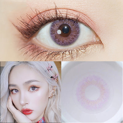 TopsFace Iris Purple II Non Prescription Colored Contact Lenses