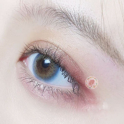 TopsFace Iris Blue Colored Contact Lenses