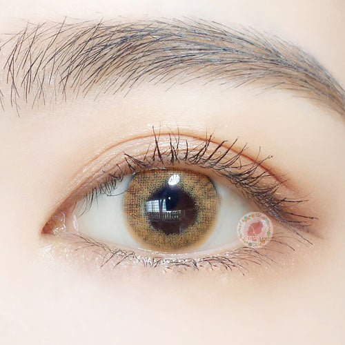 TopsFace Lemon Brown Colored Contact Lenses