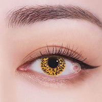 TopsFace Leopard-brown Colored Contact Lenses