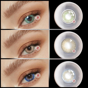 TopsFace Little Wild Cat Series Contact Lens Kit