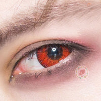 TopsFace Mystery Red Colored Contact Lenses