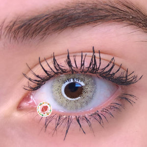TopsFace Ocean Cyan-Grey Colored Contact Lenses