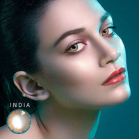 TopsFace Real India Colored Contact Lenses