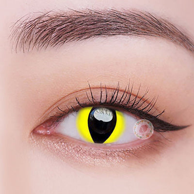 TopsFace Reptile Glow Colored Contact Lenses