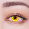 TopsFace Sun yellow Colored Contact Lenses