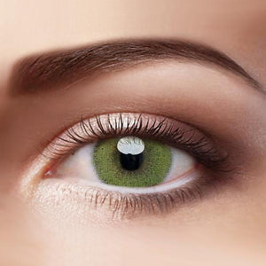 TopsFace Super Natural Yellow-green Colored Contact Lenses