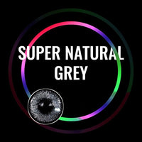 TopsFace Super Natural Grey Colored Contact Lenses