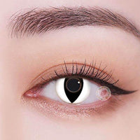 TopsFace cat eye white Colored Contact Lenses