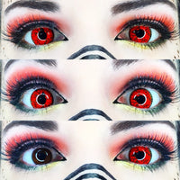 TopsFace Dangerous Ruby Colored Contact Lenses