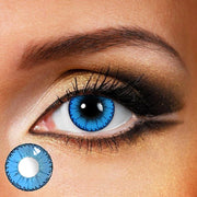 TopsFace Dodo Blue Colored Contact Lenses