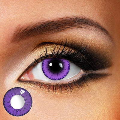 TopsFace Dodo Purple Colored Contact Lenses