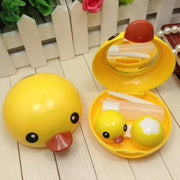 TopsFace Cute Cartoon Duck Lens Case