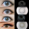 TopsFace Euroamerican Series Contact Lens Kit