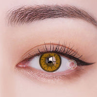 TopsFace Fire Brown Colored Contact Lenses