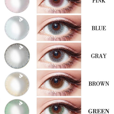TopsFace Ice Dew Series Contact Lens Kit