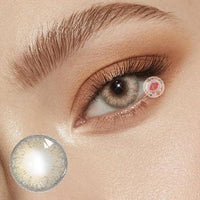 TopsFace Little Wild Cat Brown Colored Contact Lenses