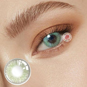 TopsFace Little Wild Cat Green Colored Contact Lenses