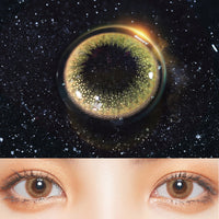 TopsFace Mermaid Kyi Brown II Colored Contact Lenses