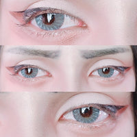 TopsFace Ice Dew Blue Colored Contact Lenses