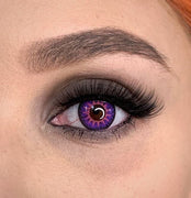 TopsFace Mystery Purple Colored Contact Lenses