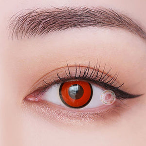 TopsFace Ring black-Red  Colored Contact Lenses