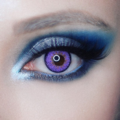 TopsFace Elf Purple Colored Contact Lenses