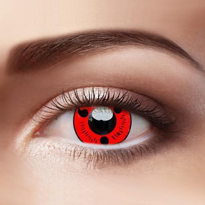 TopsFace Sharingan Magatama Colored Contact Lenses