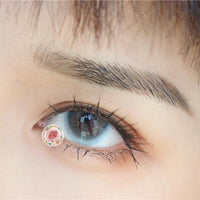 TopsFace summer blue Colored Contact Lenses