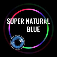 TopsFace Super Natural Blue Colored Contact Lenses