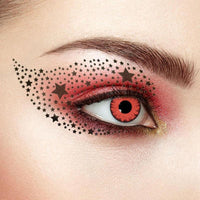 TopsFace Twilight Red Colored Contact Lenses