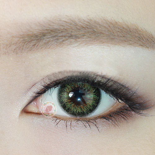 TopsFace Vintage Olive Colored Contact Lenses